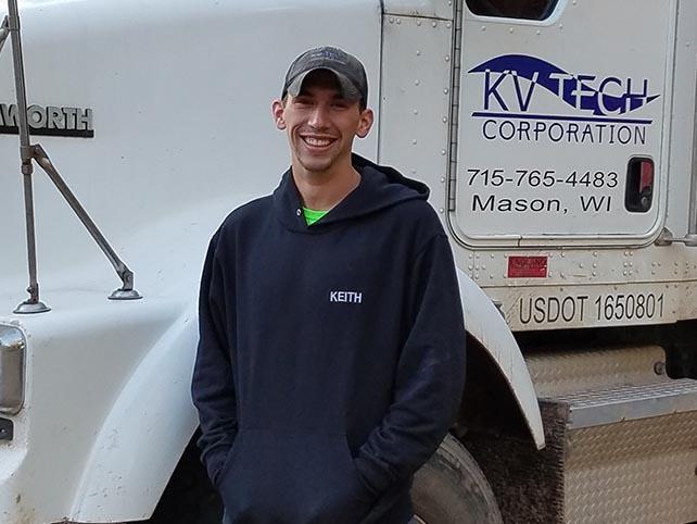 Keith Schmude Road Operator