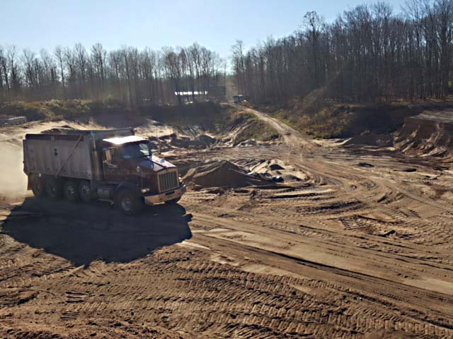 kv tech sand and gravel pit photo