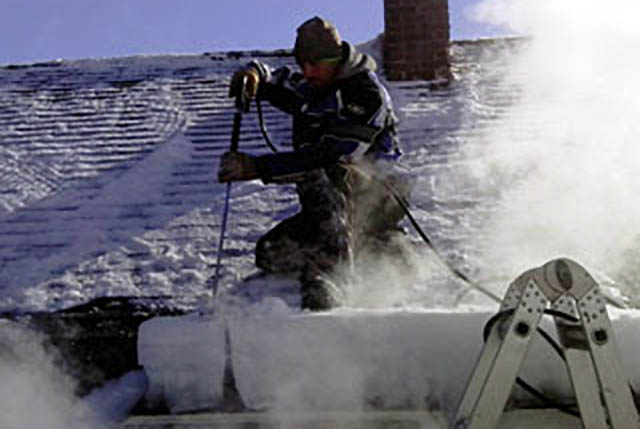 , Ice Dam Removal