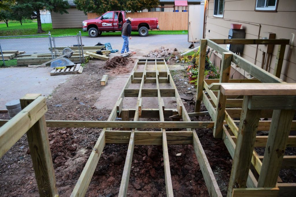 Deck and ramp construction